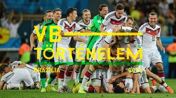 A 7-1-es hazai rémálom - Brazília, 2014