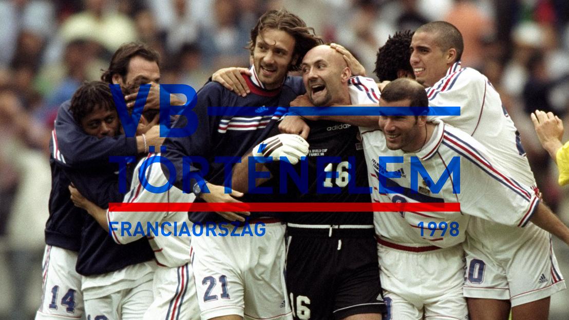 1998 franciaorszag