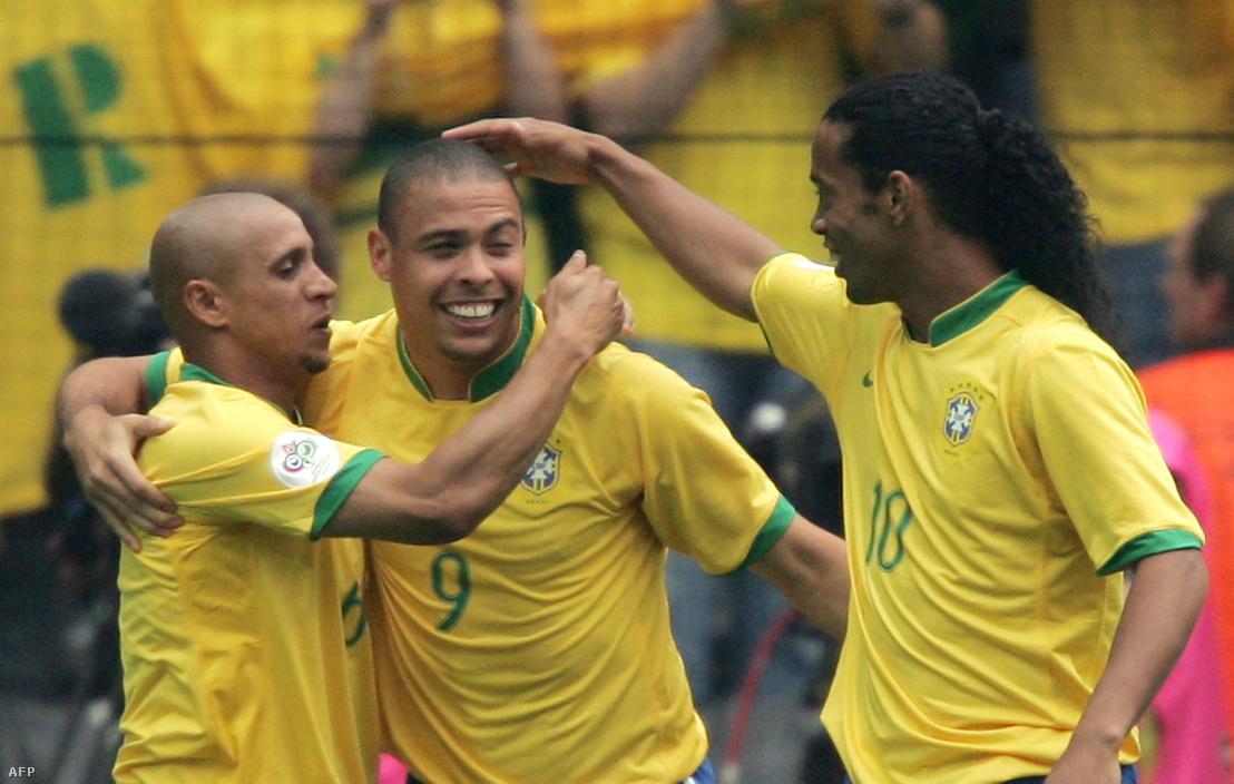 Ronaldo, Roberto Carlos és Ronaldinho