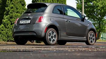 Használtteszt: Fiat 500e