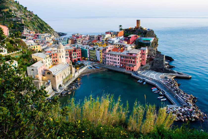 Vernazza, akárcsak a másik négy falu, 1997 óta az UNESCO Világörökség része.