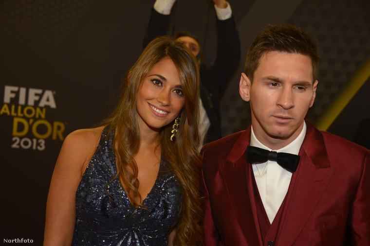 Messi és a lány szerelmi története szinte tündérmesébe illő