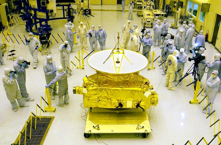 2005. november 4-én mutatták be a sajtó képviselőinek a New Horizonst