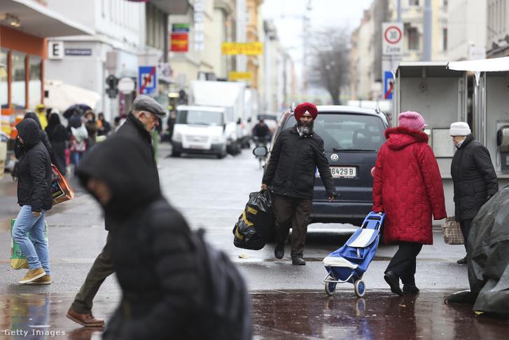 Bécsi utcakép 2016 decemberében