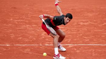 Őrült rövidítésben esett ki Djokovics a Garroson