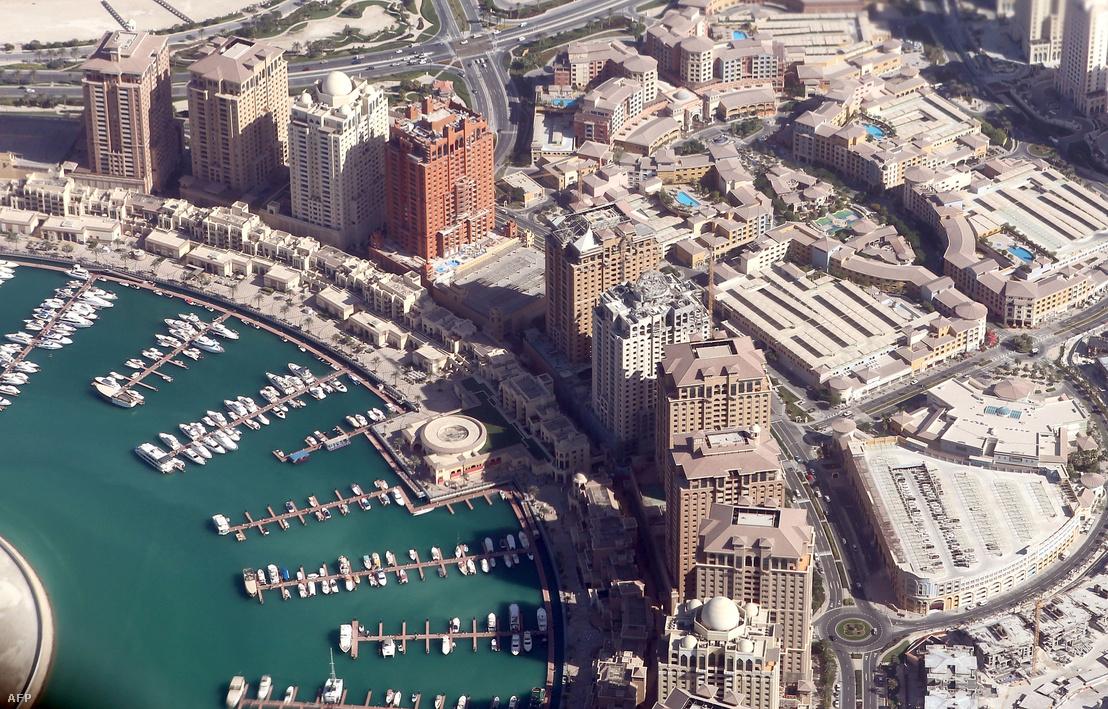 Doha kikötője