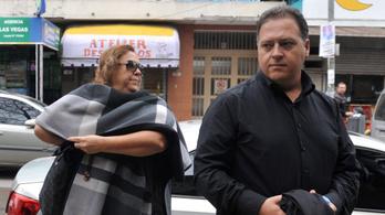 Escobar özvegye és fia is bíróság előtt