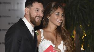 Ritka szép szerelmi története van Lionel Messinek és a gyönyörű feleségének