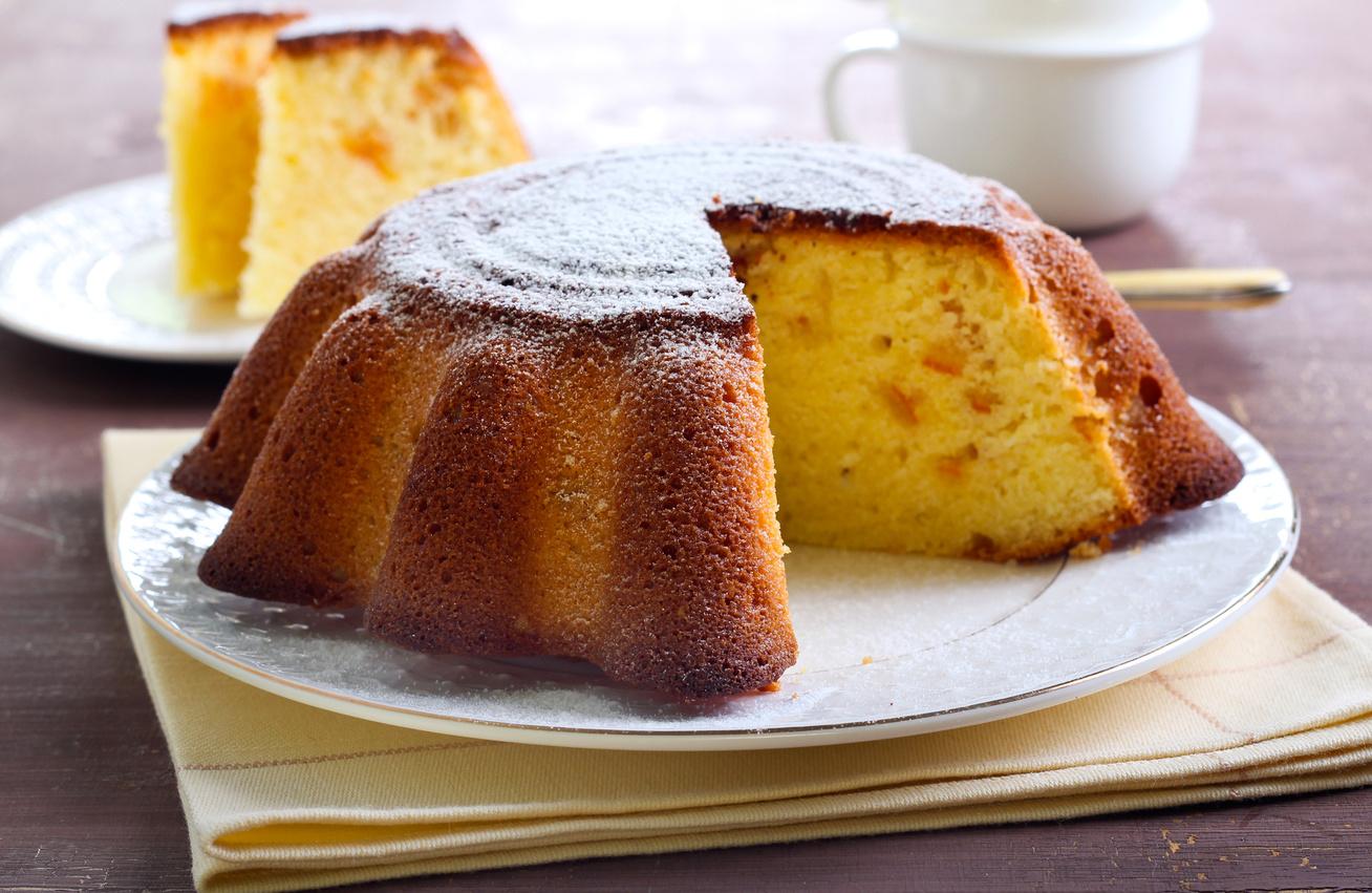 Citromos, joghurtos süti kukoricalisztből - Gluténmentes finomság villámgyorsan