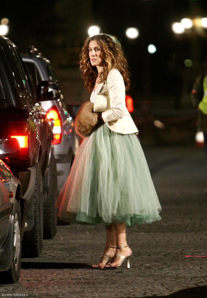 Köszönjük Carrie-nek, hogy újra divatba hozta a tüllszoknyát, amelynek népszerűsége azóta is töretlen
