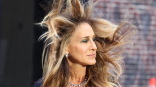 Bárcsak mindig ilyen lenne Sarah Jessica Parker frizurája