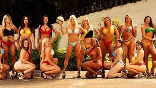 Így készülnek a legjobb fenekű brazil nők a foci vb-re!