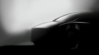 Még egy kép a Tesla Model Y-ról