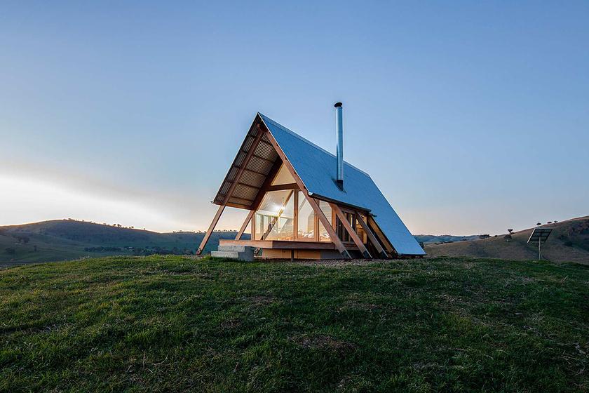 Icipici ház a puszta közepén: minden megvan benne, mégis meglepően tágas