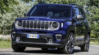 Átalakul a Jeep Renegade
