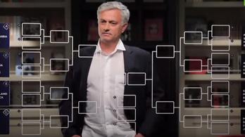 Mourinho lejátssza nekünk a csoportmeccseket