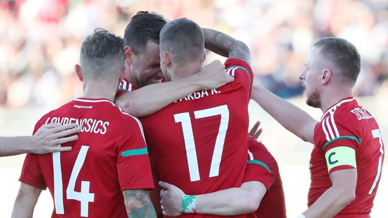 Fehéroroszország-Magyarország percről percre