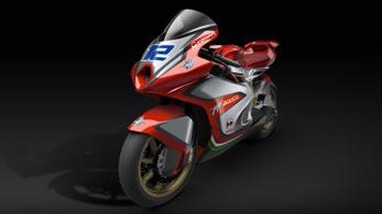 Így néz ki az MV Agusta Moto2-es versenygépe