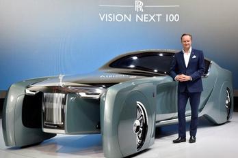 Lelép a Rolls-Royce vezető tervezője