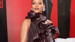 Mégis minek öltözött Rihanna az Ocean's 8 premierjén?