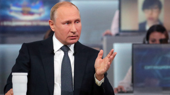 Putyin Ukrajnát fenyegeti, ha katonai provokáció történik a vb idején