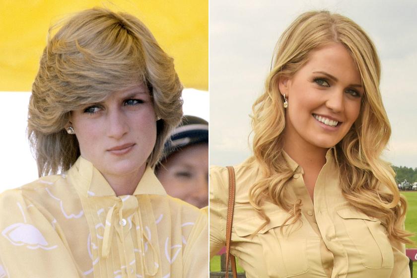 Diana unokahúga lemásolta a hercegnő stílusát - Egyforma ruhát viseltek