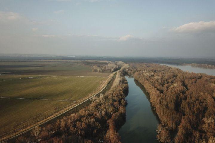 Még érintetlen Duna-part Madocsa környékén