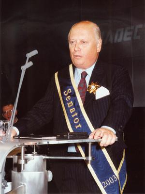 Max Turnauer Habsburg Otto 95. születésnapján