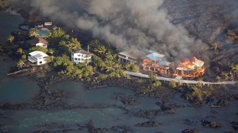 Már 600 házat emésztett el Hawaiin a láva