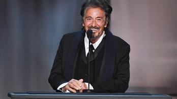 Először dolgozik együtt Tarantino Al Pacinóval