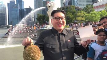Kim Dzsongun-hasonmást vettek őrizetbe Szingapúrban