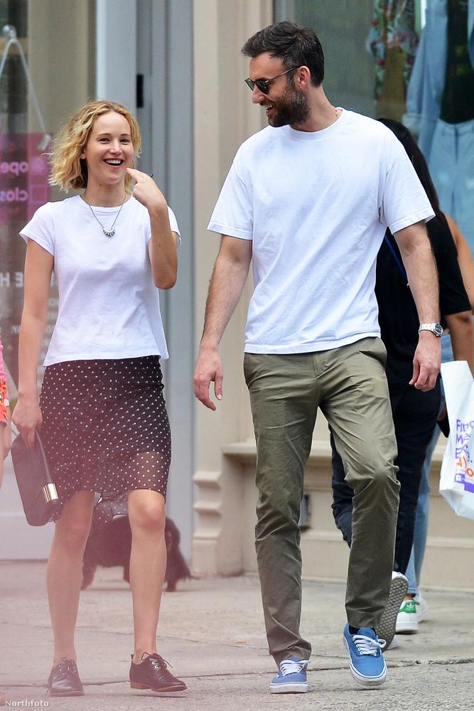 És most már azt is elmondhatja magáról, hogy Jennifer Lawrence pasija.