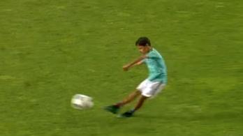 Akkora gólt lőtt Ronaldo kisfia, hogy behívhatnák a válogatottba is