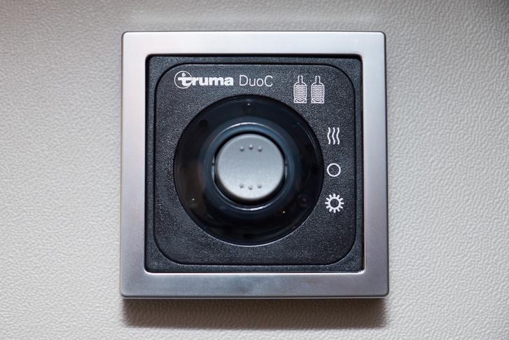 A Duo Control biztosítja, hogy az egyik palack kifogyására ne az éjszakai vacogás figyelmeztessen