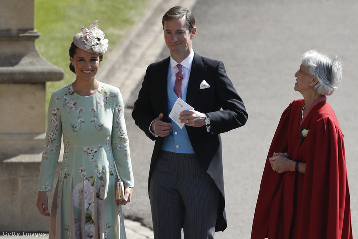 Pippa Middleton és James Matthews