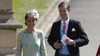 Pippa Middleton babát vár