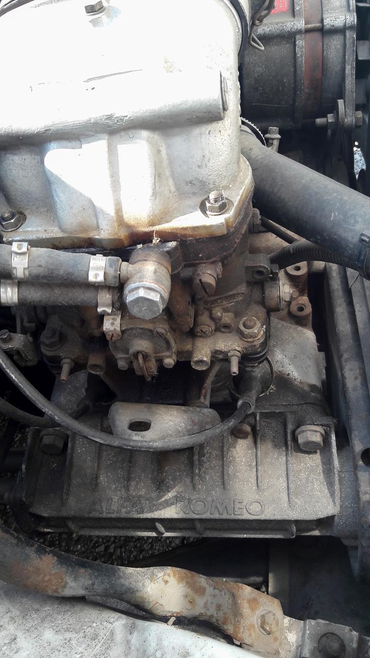 A motor porszáraz