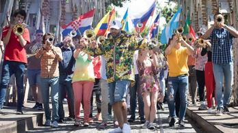 Budapesten forgatták a vb-himnusz klipjét