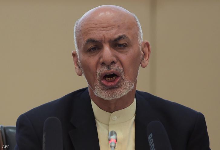 Asraf Gáni afgán elnök