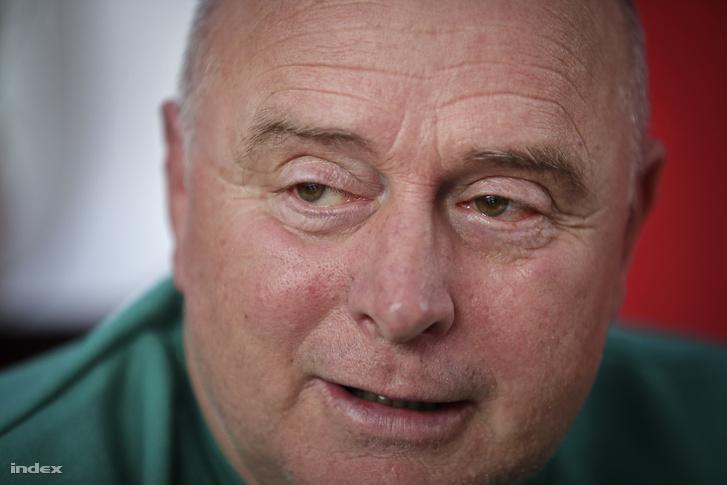 Georges Leekens egykori játékostársa, Magyar István