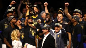 Megvan az NBA idei bajnoka, kisöpörte a Warriors a Cavst