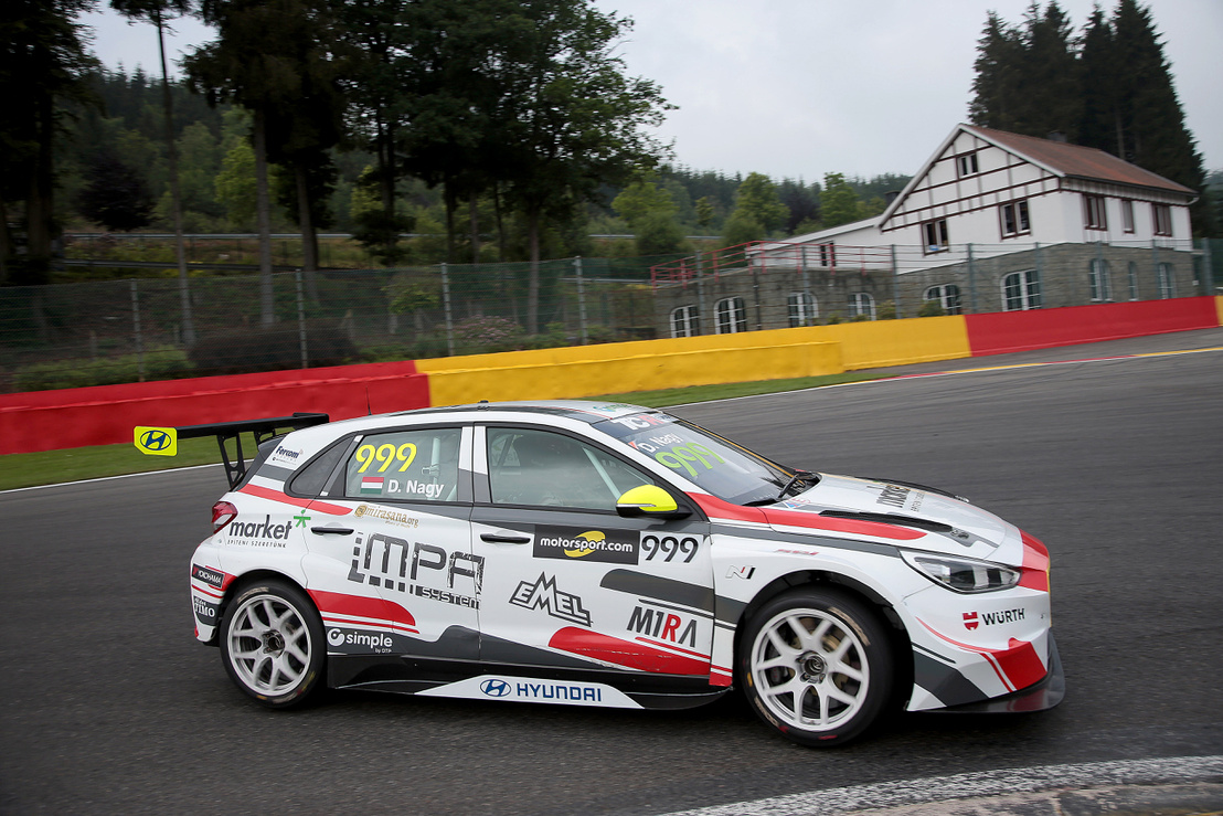 2018-2018 Spa Friday---2018 TCR Europe Spa, 999 Daniel Nagy 15