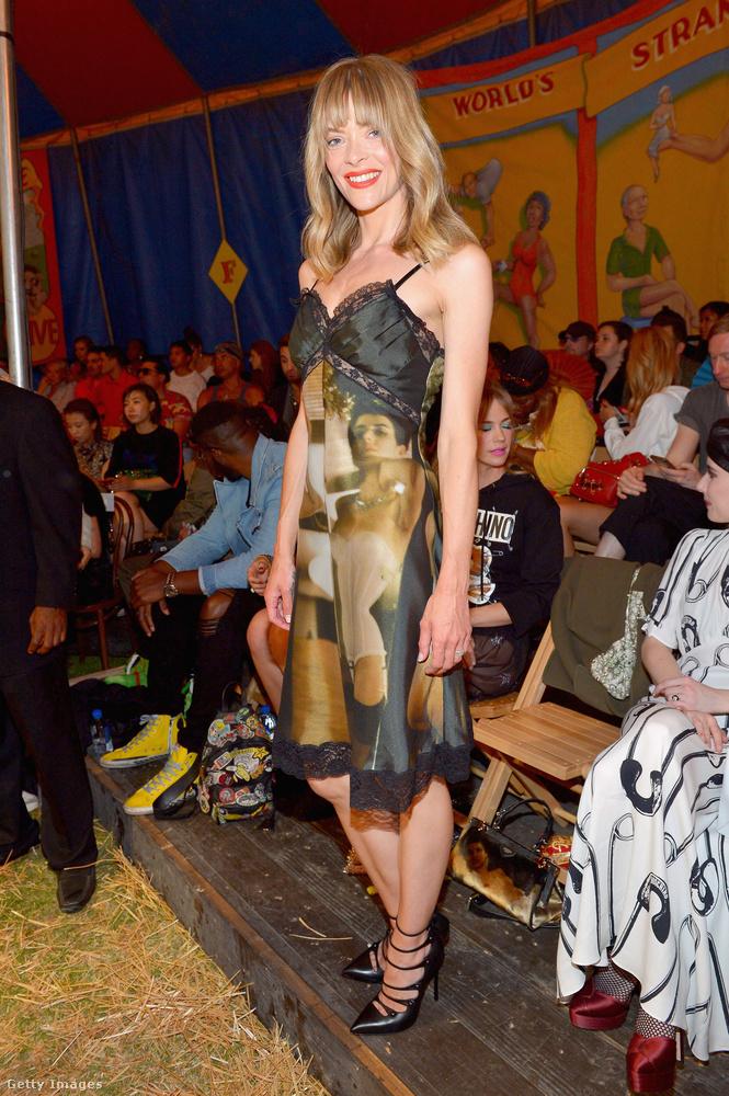 Jaime King modell-színésznő is ott volt.