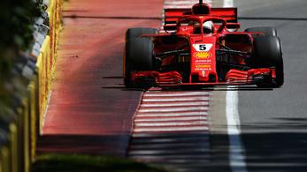 Vettel 17 év után szállított pole-t a Ferrarinak Kanadában