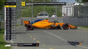 Az F1 legkínosabb fél perce