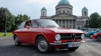 Alfa Romeo 1300 GT Junior - vizsgára felkészítés… és lett papírja!
