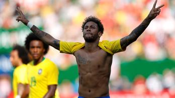 Neymar meggyógyult, újra szemtelen