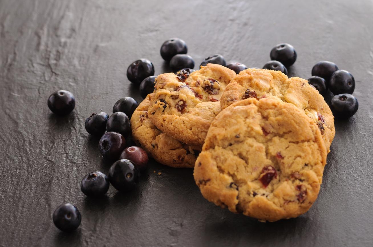 Vajas, áfonyás házi keksz: a recept, ami kézről kézre jár