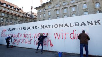 A svájciak nem akarják megváltoztatni a kereskedelmi bankjaik működését