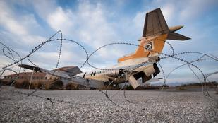 Így néz ki Ciprus 44 éve pusztuló reptere!